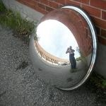 HALF GLOBE SECURITY MIRROR