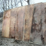 Plywood - used
