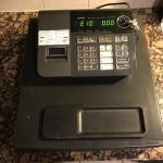 Cash register by Casio (front view)