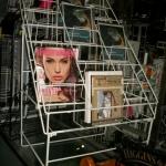 Magazine rack  - new  (foldable)
