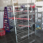 Multi purpose shelving