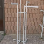 4-way garment rack