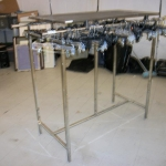 Parallel H garment rack