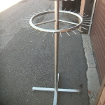 Belt rack- 2 tier
