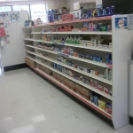 Aisle shelving