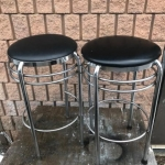Pair of stools - very well made, in good condition