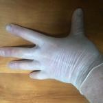 Vinyl gloves C