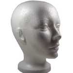 head-styrofoam