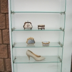 Glass shelving - custom made to your needs