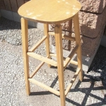 Bar stool wooden