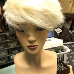 Mannequin styled blonde