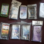Assorted cell phone covers