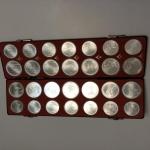 Siver coin collection
