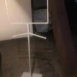 Sign holder - 2 way rack