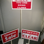 Sign holders (7X11'') New
