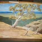 Australian landscape original oil painting- signed