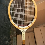 Tennis racket - wood