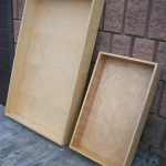 Wooden trays Plywood