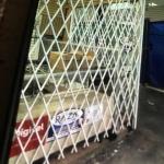 Security retractable doors