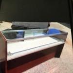 6' jewellery showcase in quarter vision