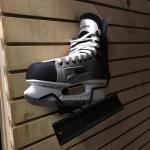Slatwall braket to hold skates