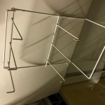 2 level triple hook rack 4 table top use