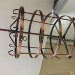 4 circle spinning ear ring rak 4 counter top use