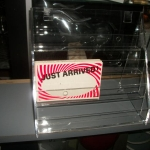 Acrylic card/brochure rack