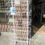 Multi pocket wire rack