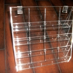Acrylic 4 tier display unit 1