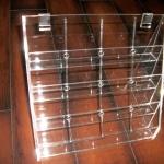 Acrylic 4 tier display unit 1