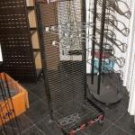 Multi use freestanding rack