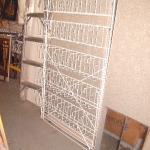 Multi pocket floor rack
