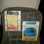 magazine wire rack 8 pocket