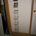 Multi poket wire rack