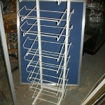 Multi slanted shelve rack