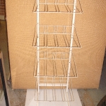 Multi shelve metal rack