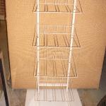 Multi shelve metal rack