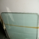 Glass table top - 2