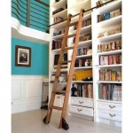 8-ft-maple-removable-rolling-ladder-with-rail-kit