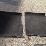 Rubberized floor mats