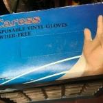 Vinyl gloves D