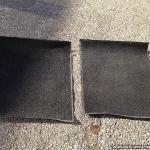 Ruberised carpet