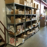Storage shelving (clip-on and bolt & nut)
