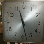Electric clock (electrictly operated)
