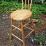 Stool with back rest - others available as well