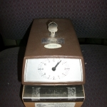 Electronic time clock - works
